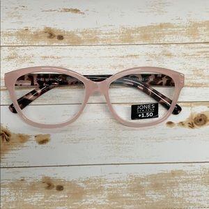 Jones New York Reading Glasses  Pink Tortoise
